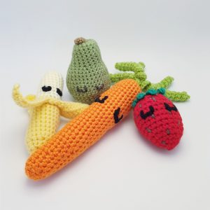 Crochet Fruits and Vegetables - Only Little