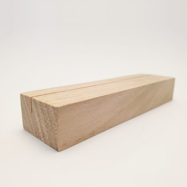 Only Little Tasmanian Oak Wooden Card Holder